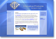 "Homepage ""Innovative Produkte Michael W. Kaffl"""