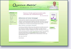 "Homepage ""Helmut Blackert - Quantummatrix, Somatic Balancing"""