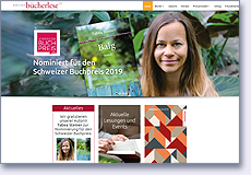 Homepage edition Bücherlese